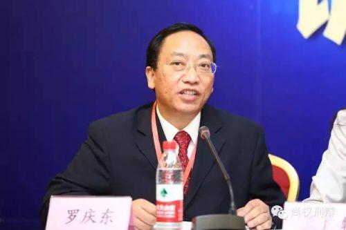 最高人民检察院刑事申诉检察厅副厅长罗庆东
