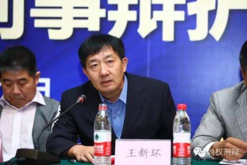 北京市检察院公诉一处处长王新环