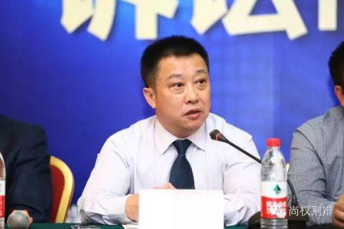 广东省律协刑事专业委员会副主任、北京市尚权律所合伙人蔡华