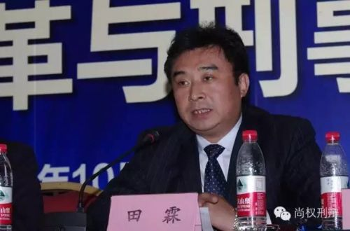 天津市律师协会刑事专业委员会田霖主任